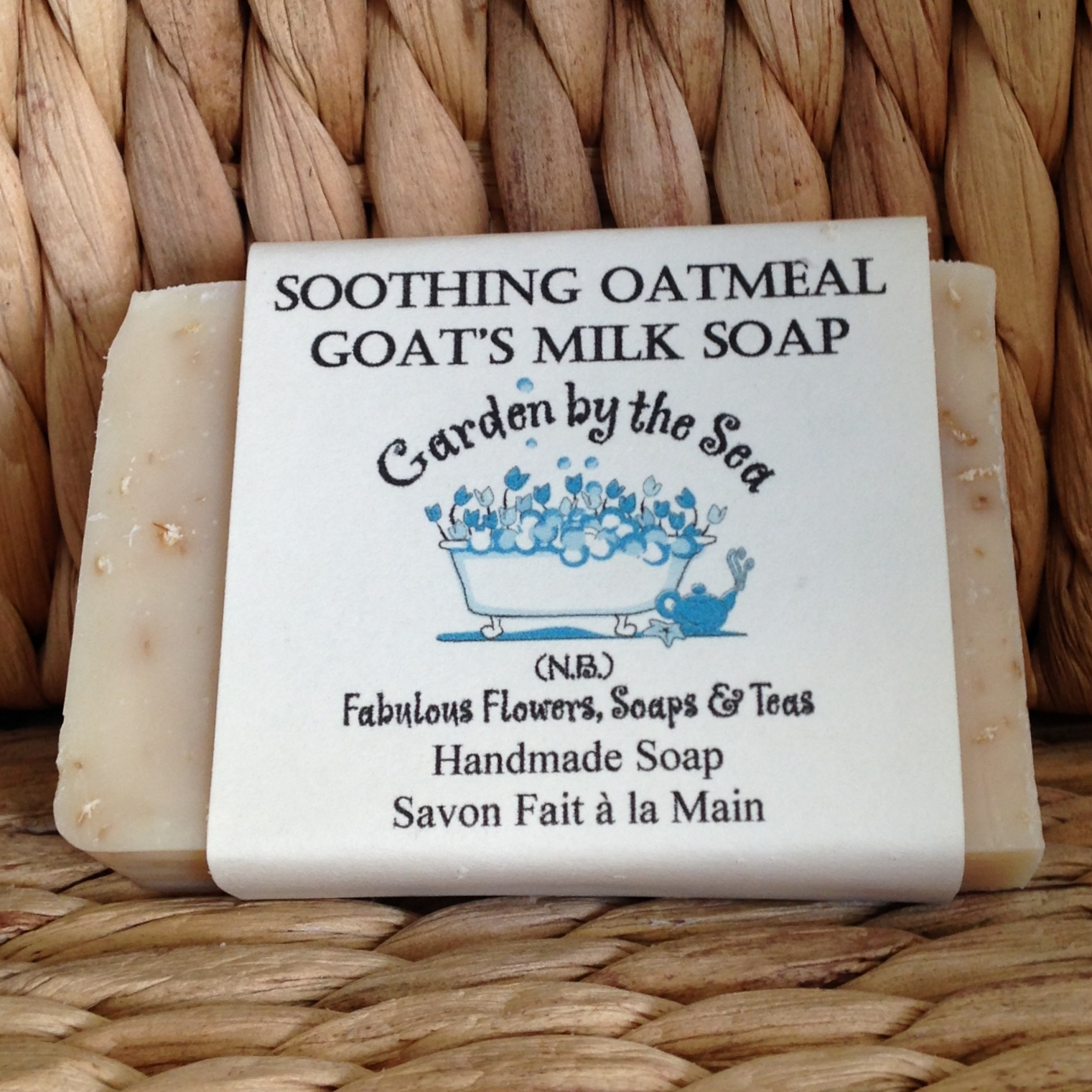 Soothing Oatmeal soap